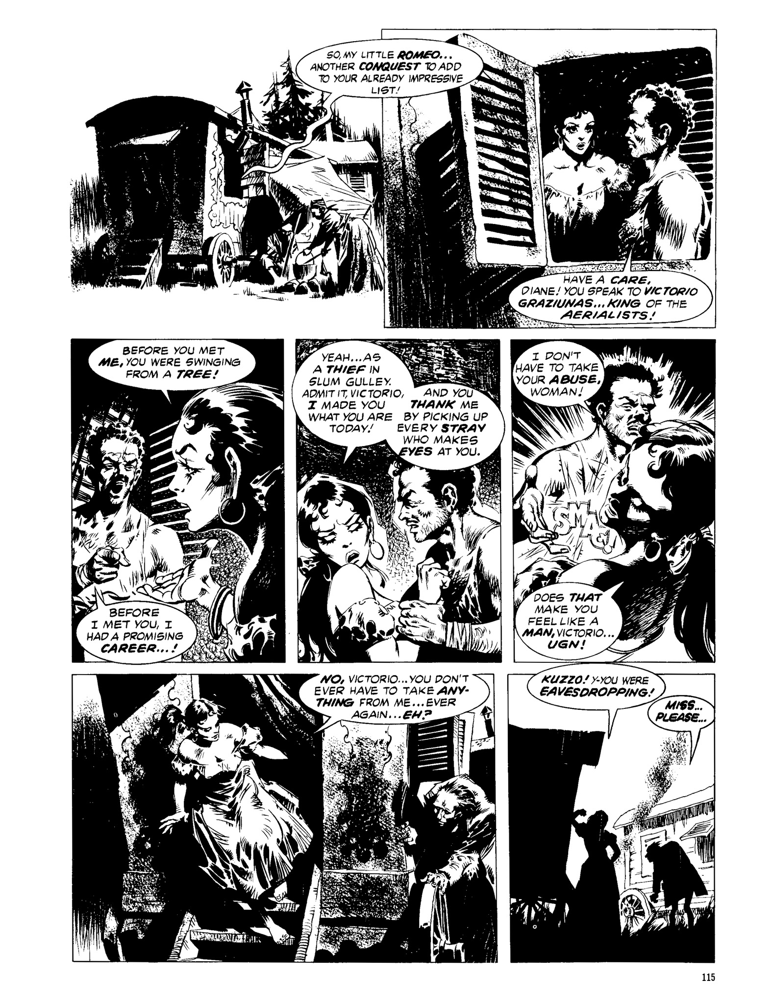 Read online Eerie Archives comic -  Issue # TPB 13 - 116