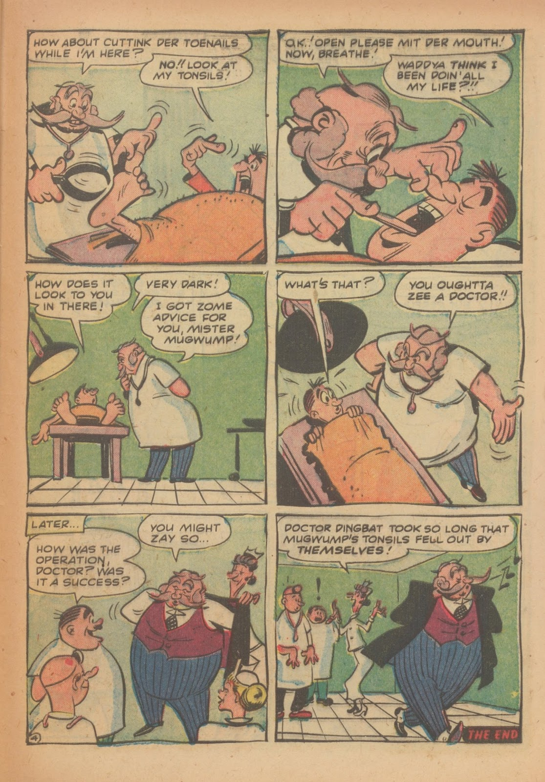 Read online Nellie The Nurse (1945) comic -  Issue #33 - 29