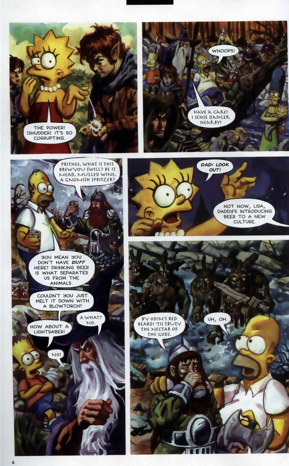 Read online Treehouse of Horror comic -  Issue #9 - 8