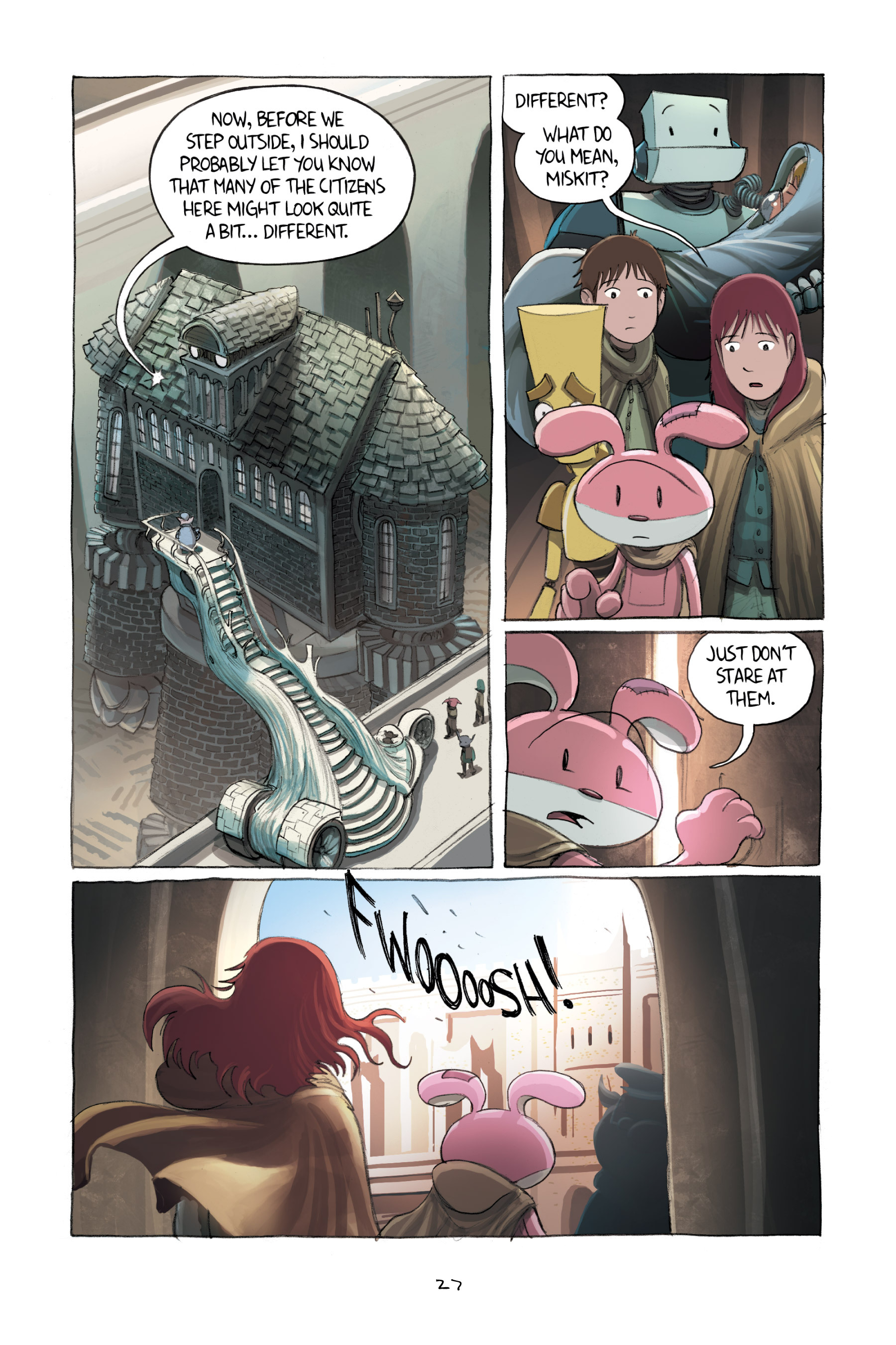 Read online Amulet comic -  Issue #2 - 29