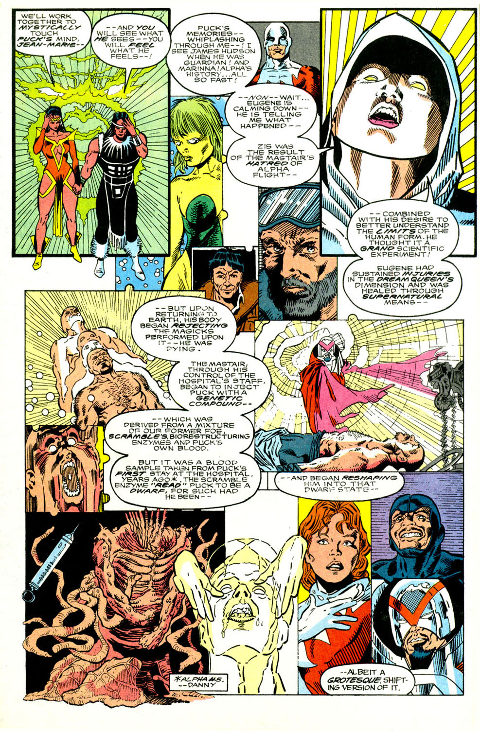 Read online Alpha Flight (1983) comic -  Issue #89 - 5