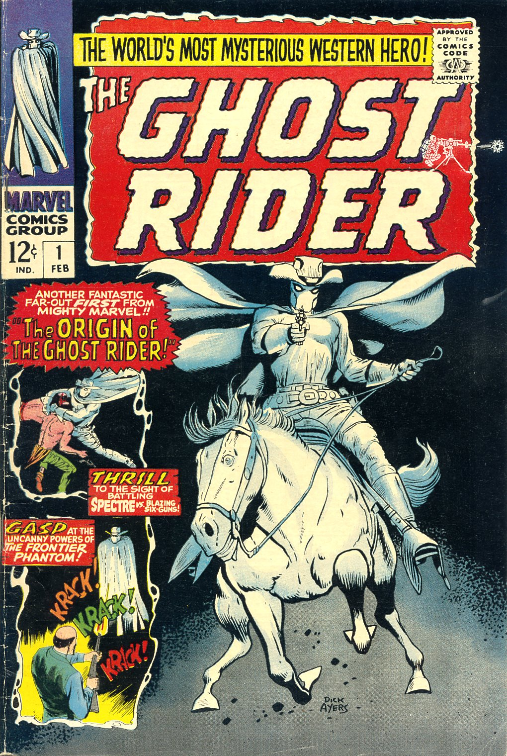 The Ghost Rider Issue #1 #1 - English 1