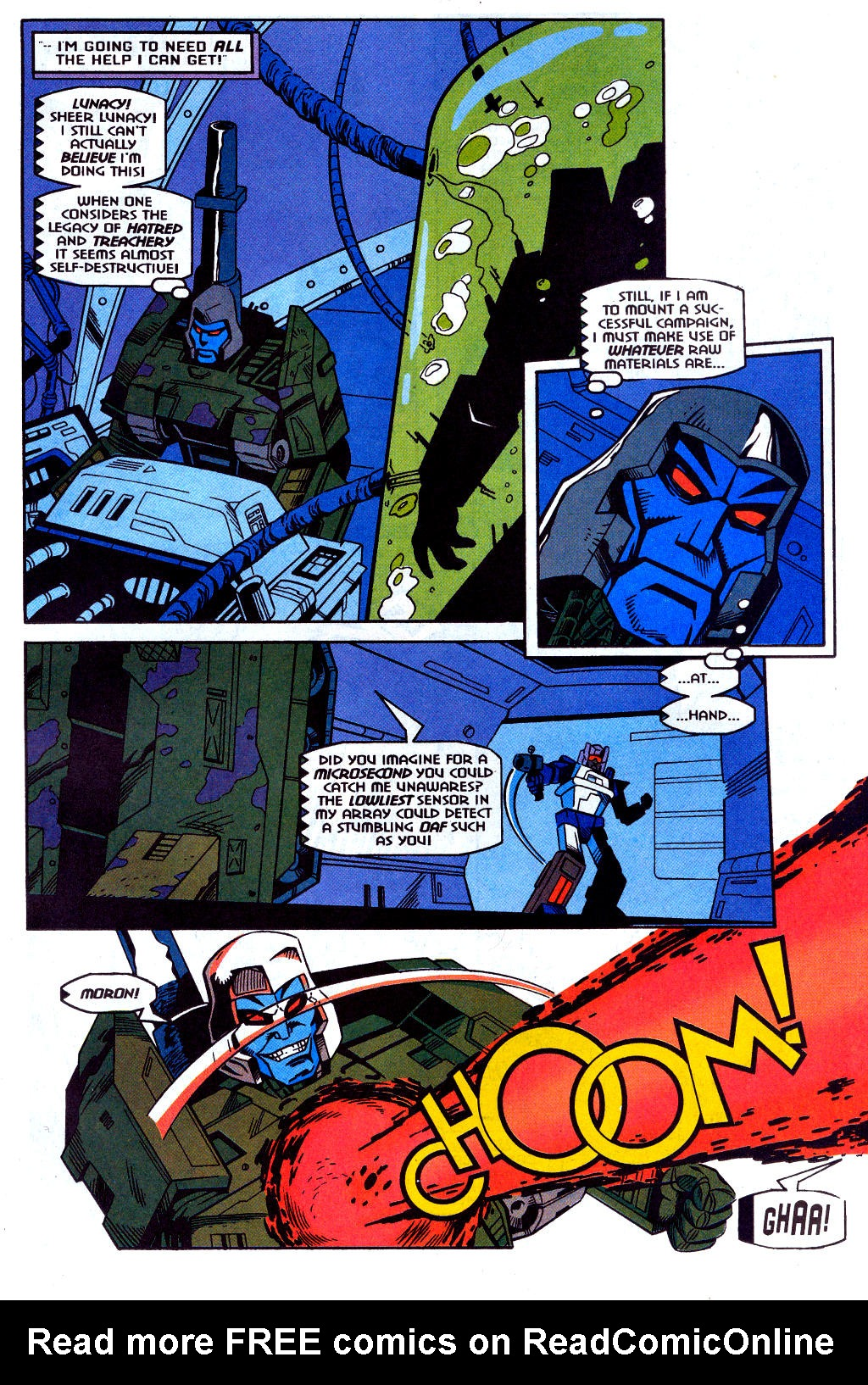 Read online Transformers: Generation 2 comic -  Issue #2 - 10