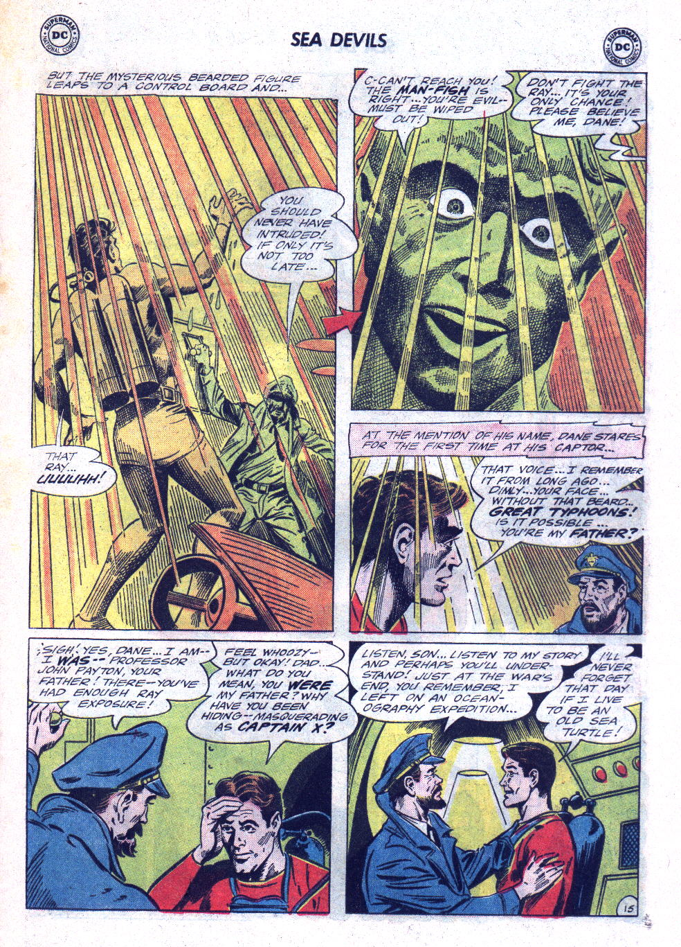 Read online Sea Devils comic -  Issue #22 - 21