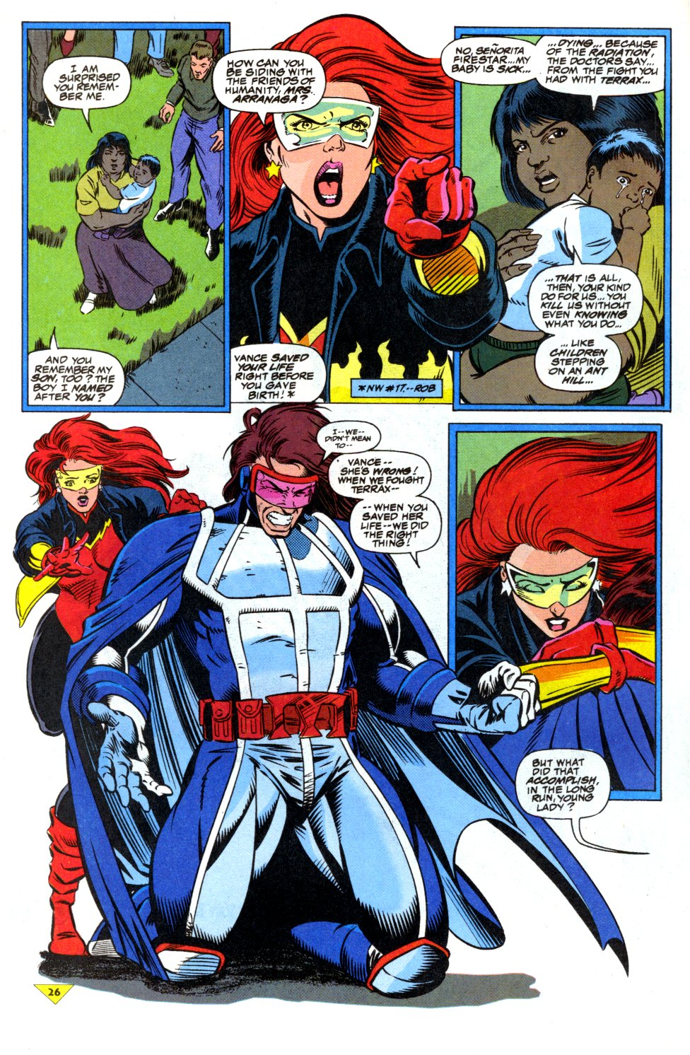 The New Warriors Issue #43 #47 - English 20