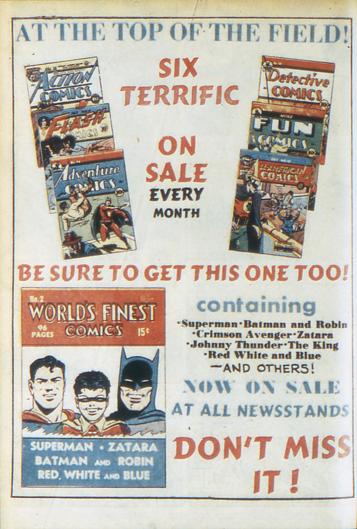 Read online Adventure Comics (1938) comic -  Issue #64 - 67