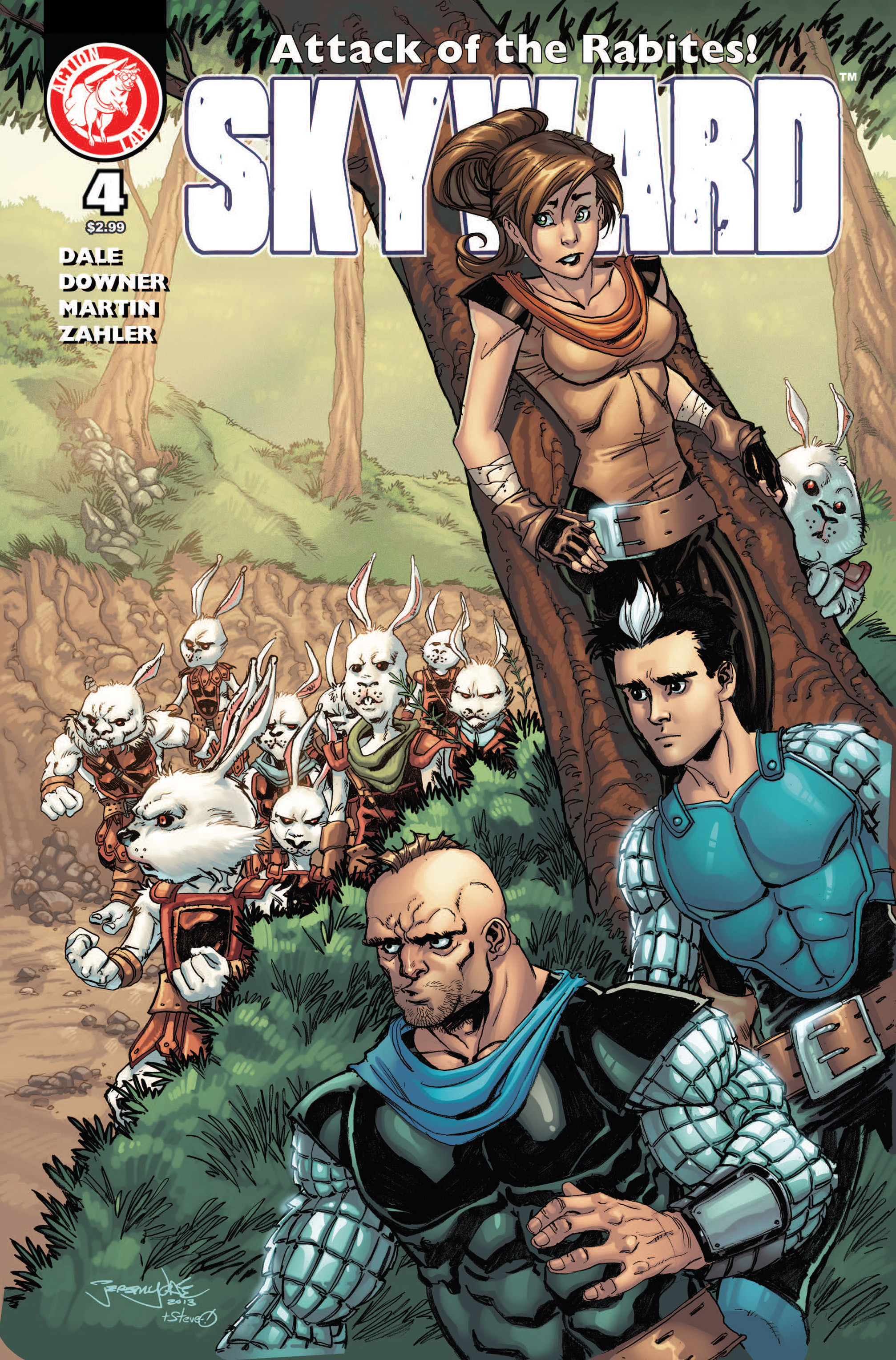 Read online Skyward comic -  Issue #4 - 1