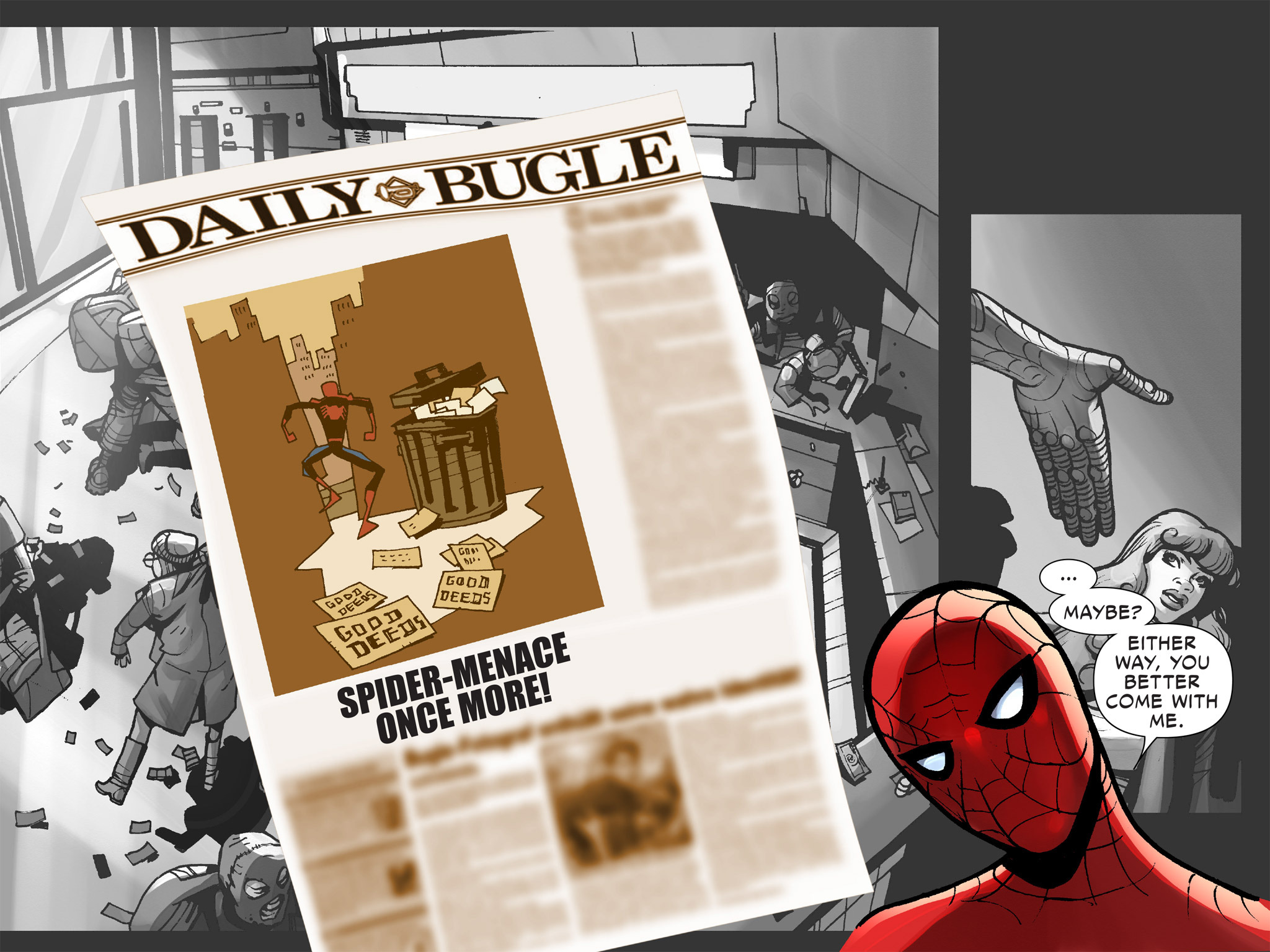 Read online Amazing Spider-Man: Who Am I? comic -  Issue # Full (Part 1) - 31