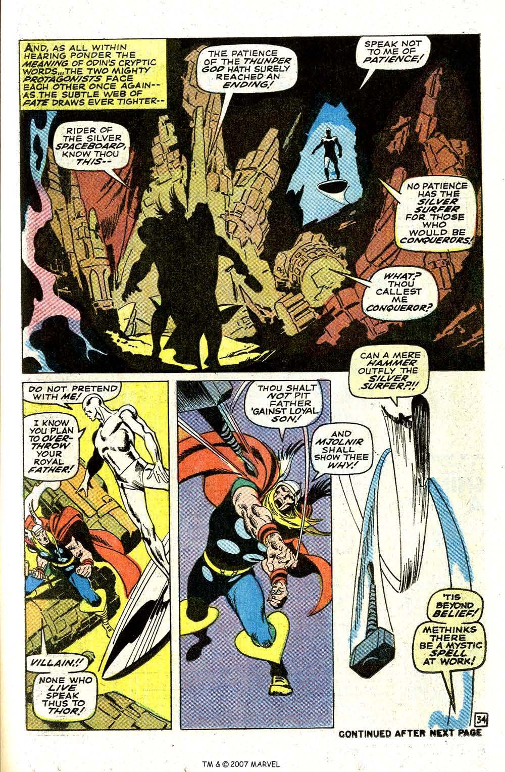 Read online Silver Surfer (1968) comic -  Issue #4 - 41