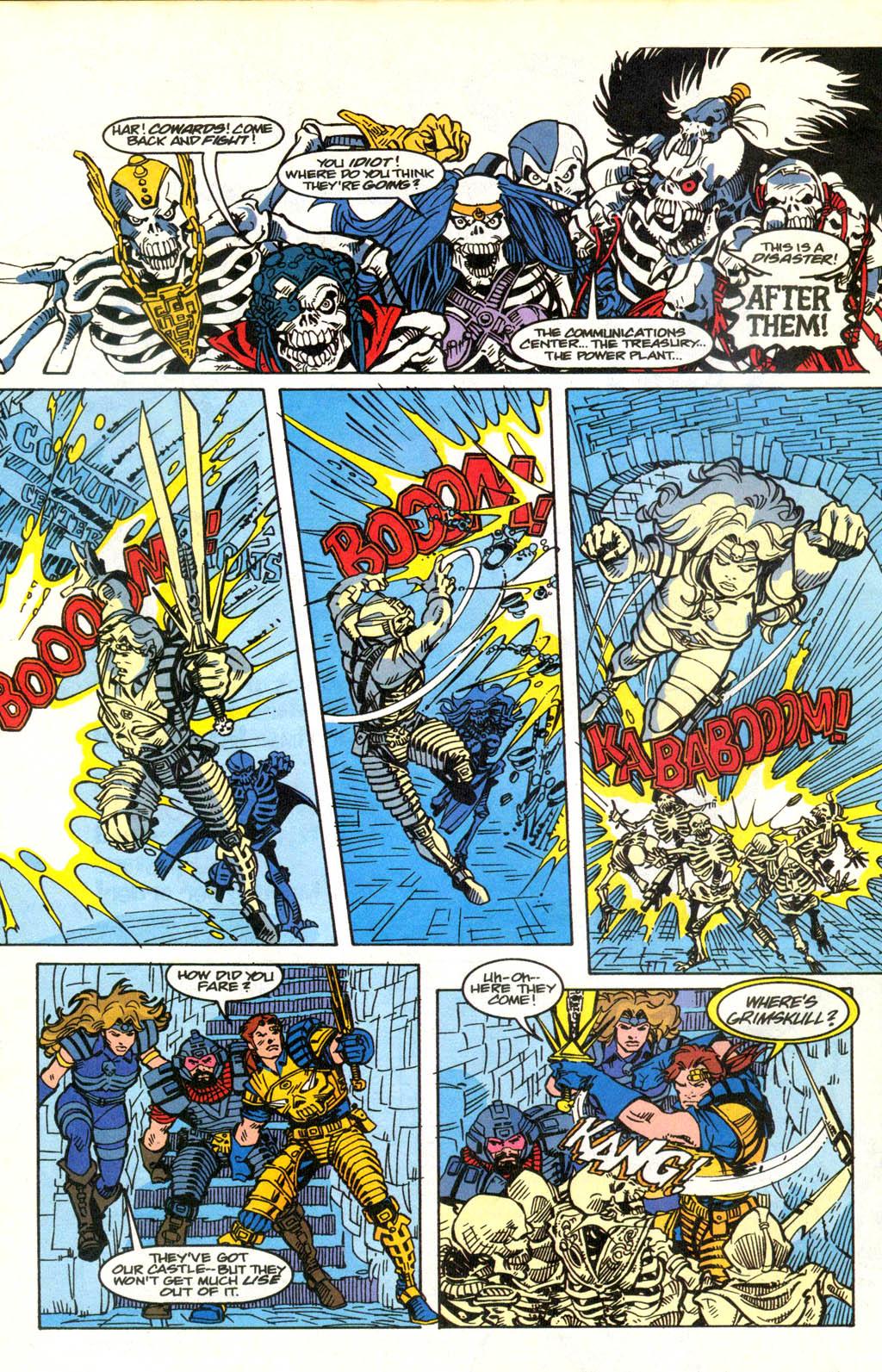 Skeleton Warriors Issue #2 #2 - English 20