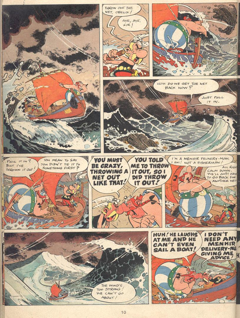 Read online Asterix comic -  Issue #22 - 7