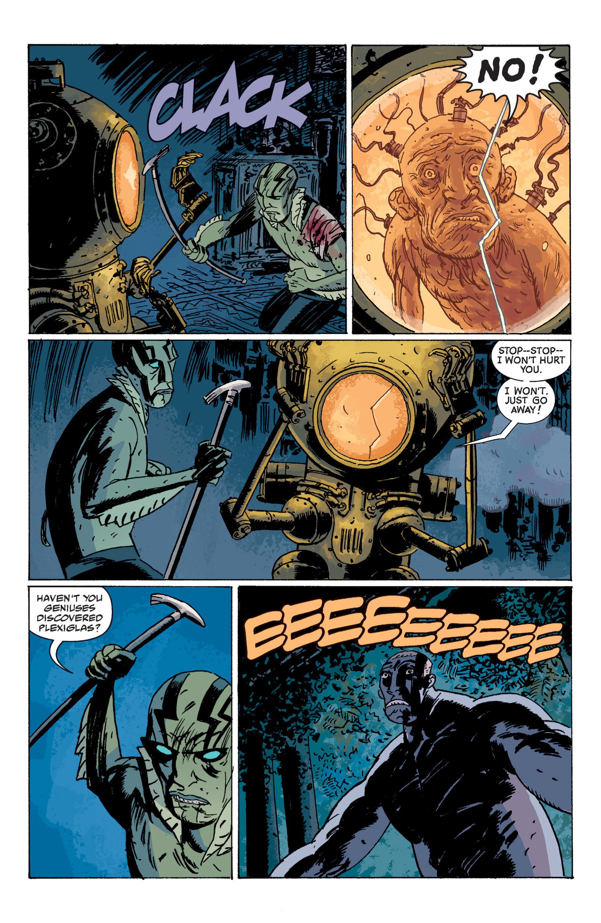 Read online B.P.R.D. (2003) comic -  Issue # TPB 7 - 129