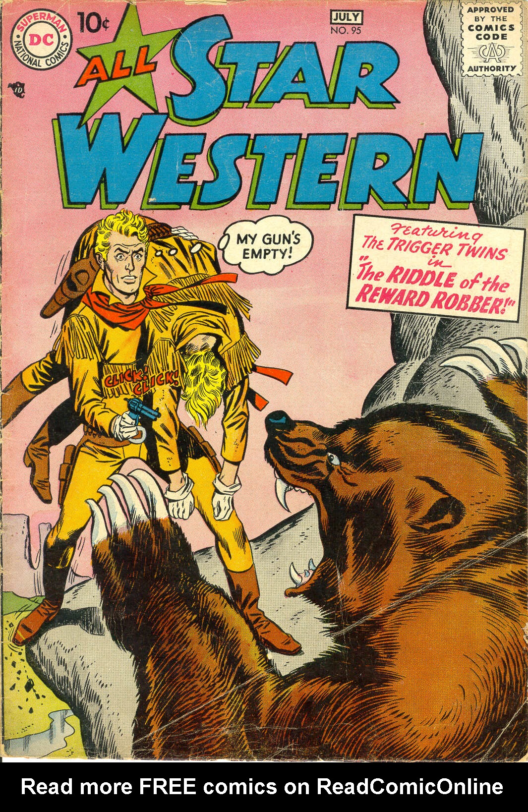 Read online All-Star Western (1951) comic -  Issue #95 - 1