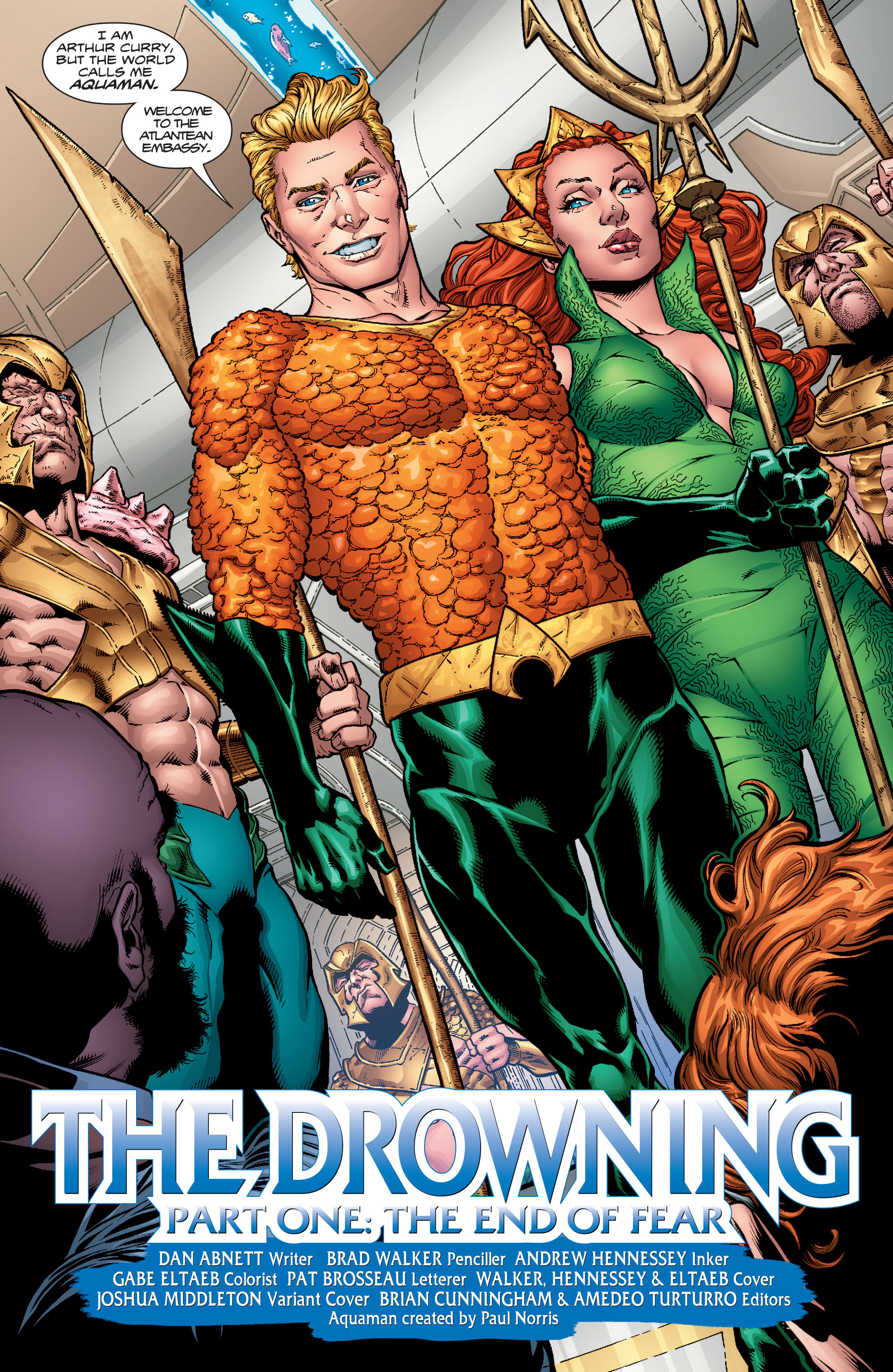 Read online Aquaman (2016) comic -  Issue #1 - 11
