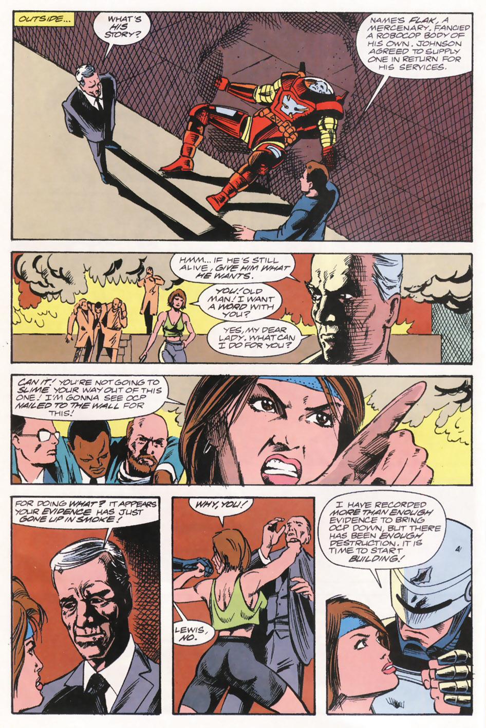 Read online Robocop (1990) comic -  Issue #15 - 22