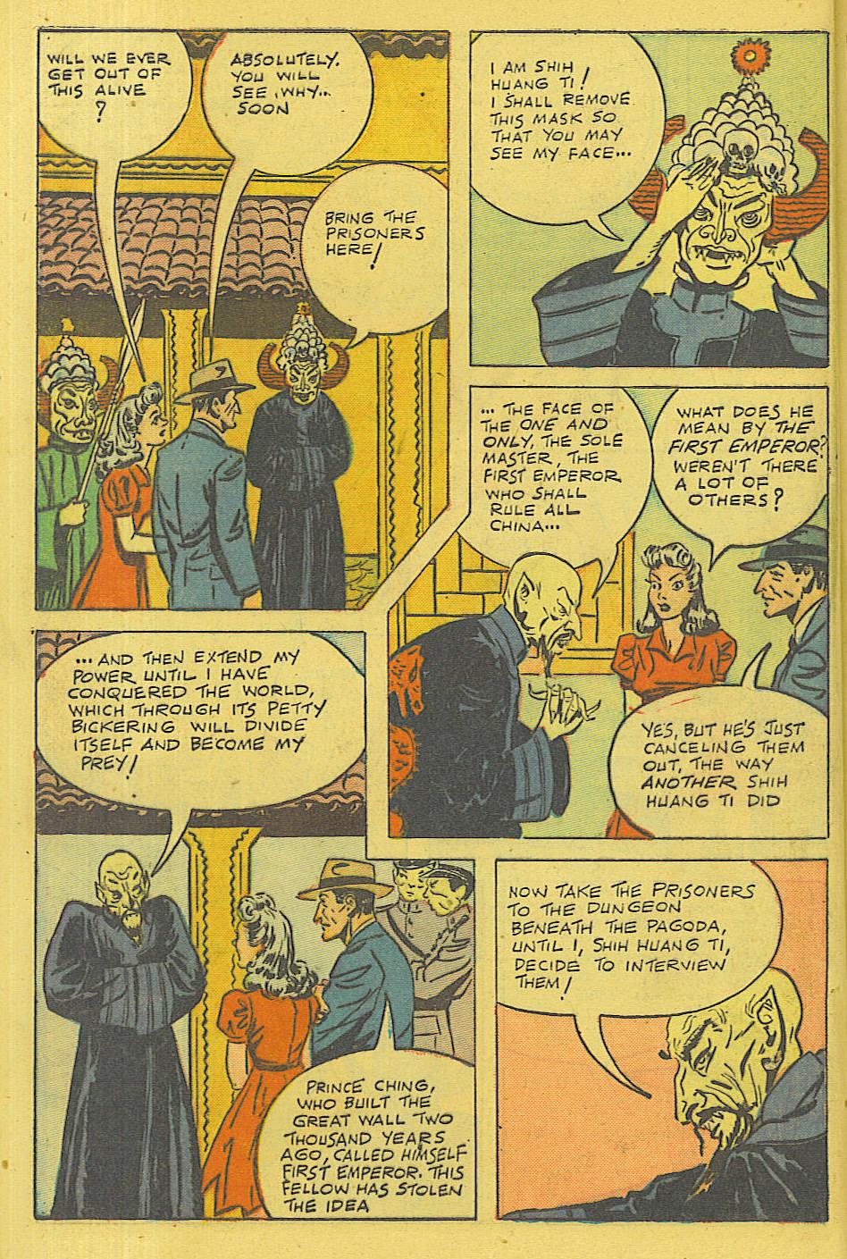 Read online Shadow Comics comic -  Issue #71 - 47