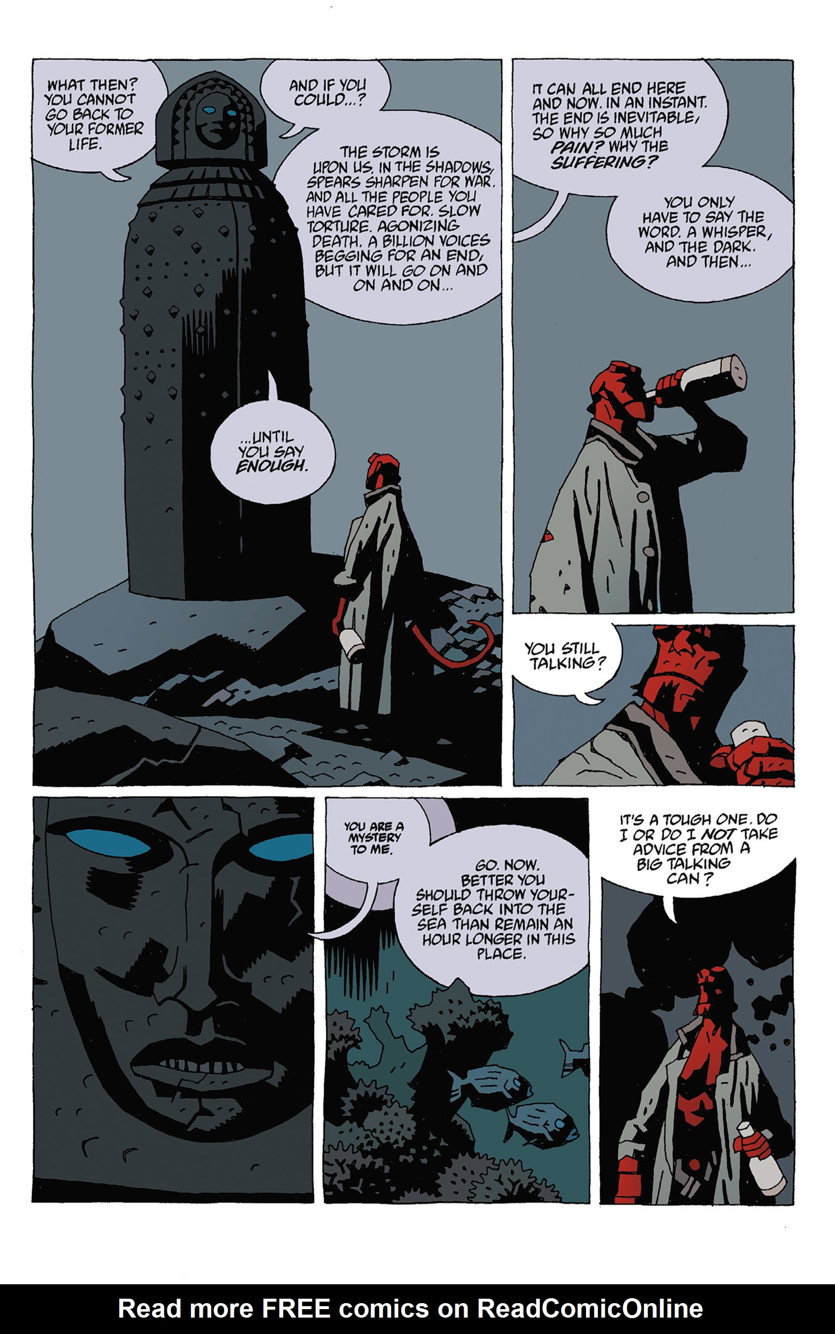 Read online Hellboy: Strange Places comic -  Issue # TPB - 77