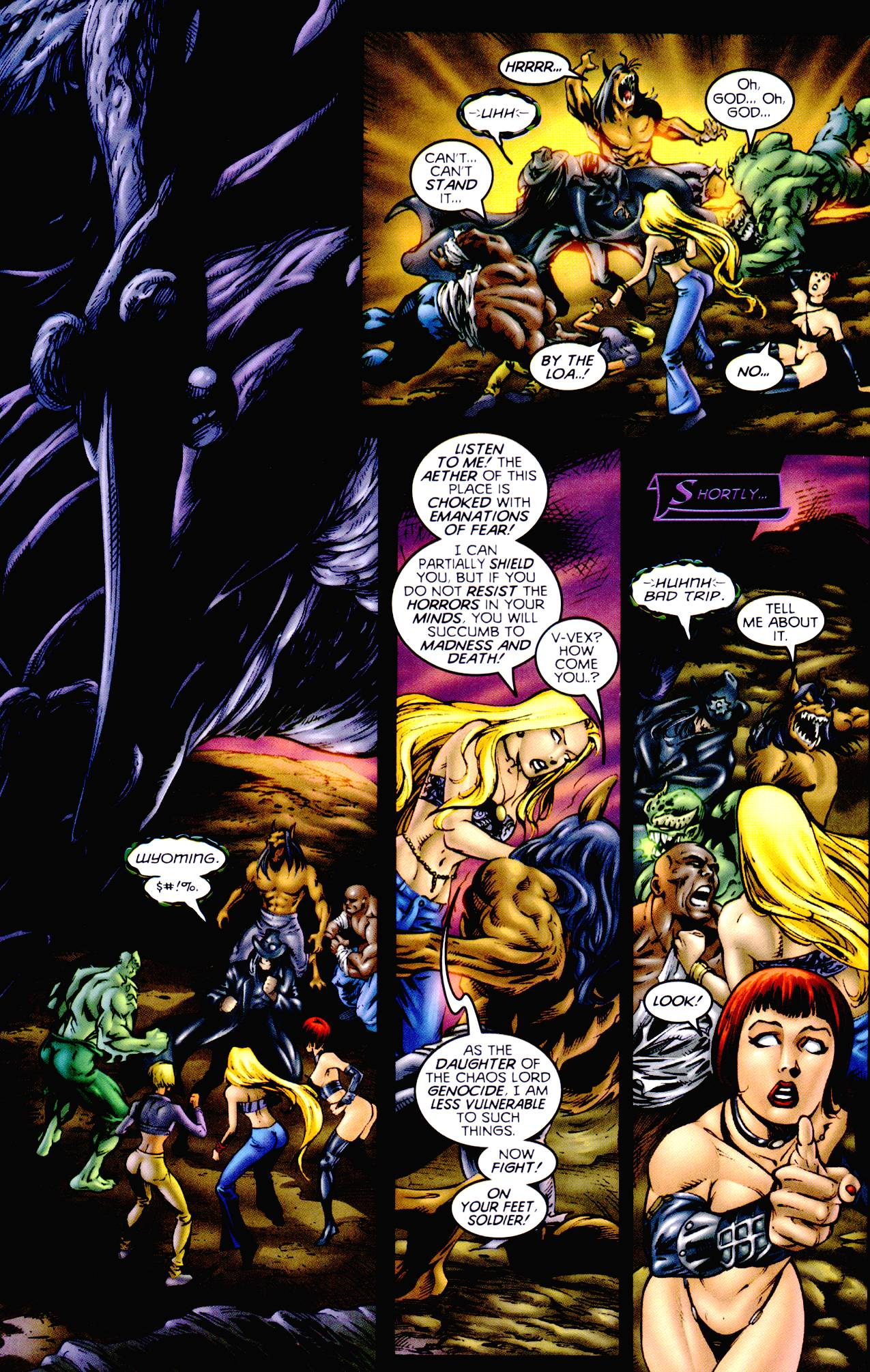 Read online Armageddon (1999) comic -  Issue #3 - 17