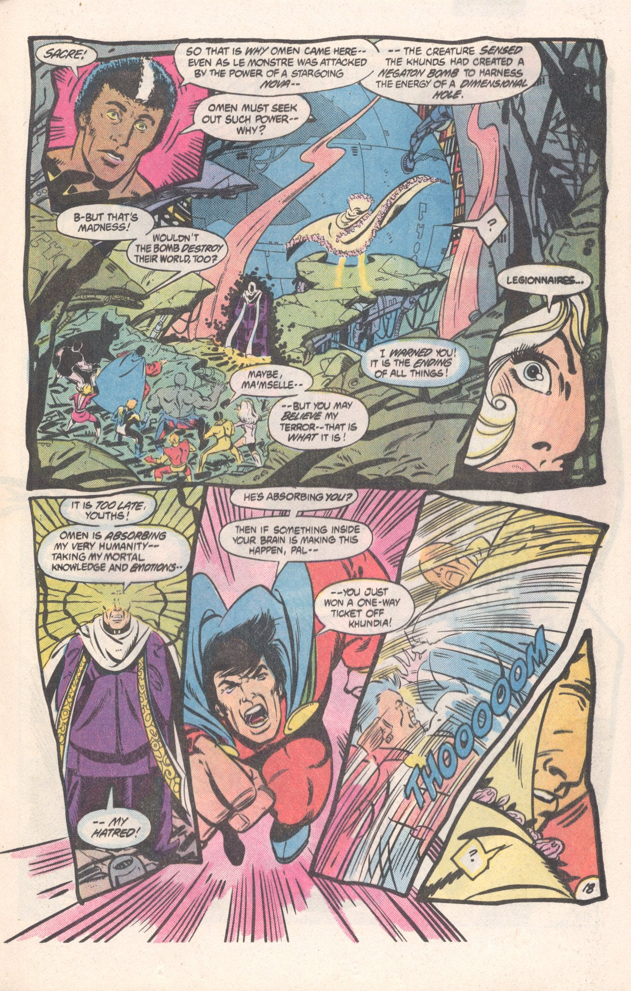 Legion of Super-Heroes (1980) 310 Page 18