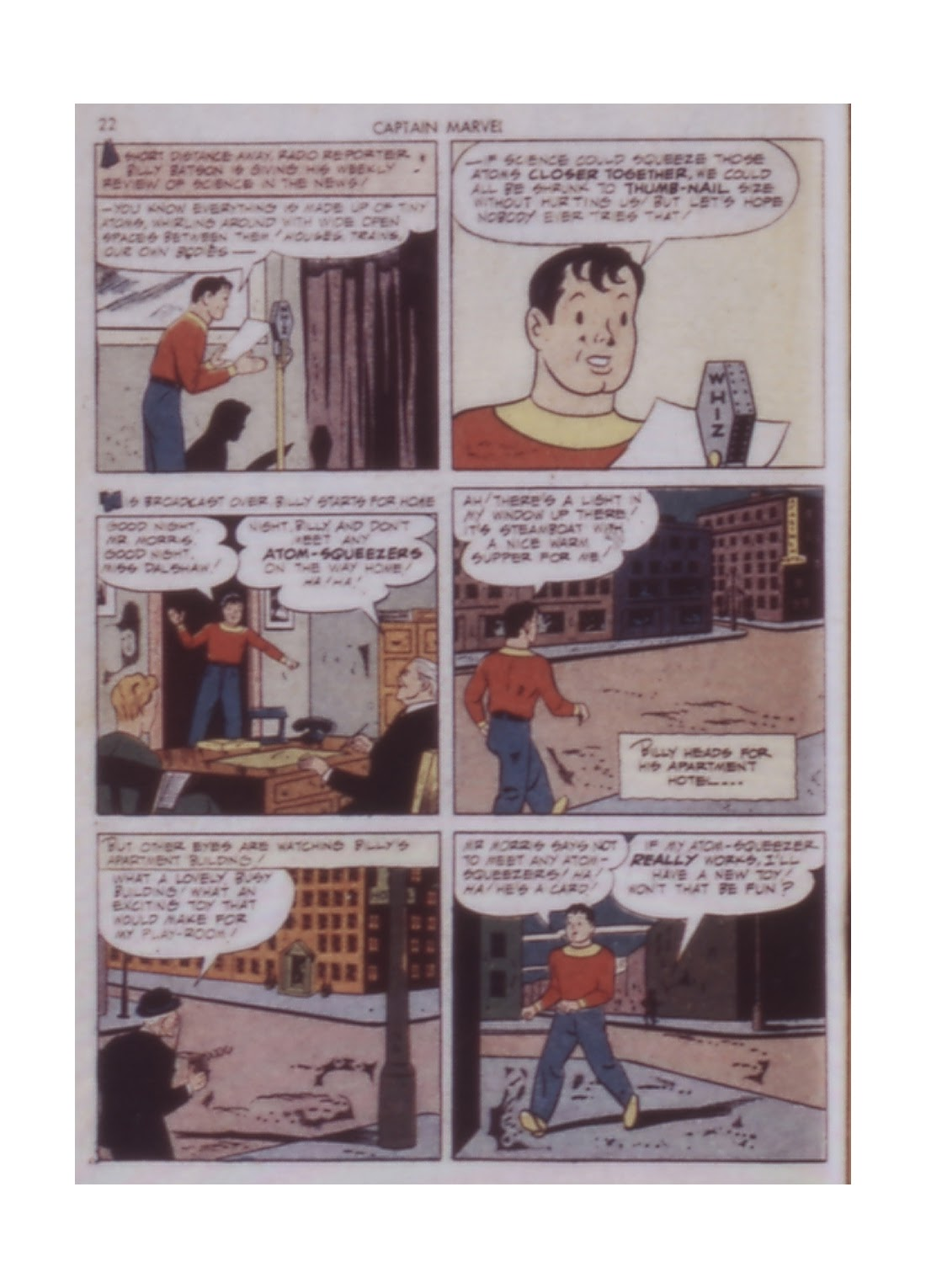 Captain Marvel Adventures issue 14 - Page 22