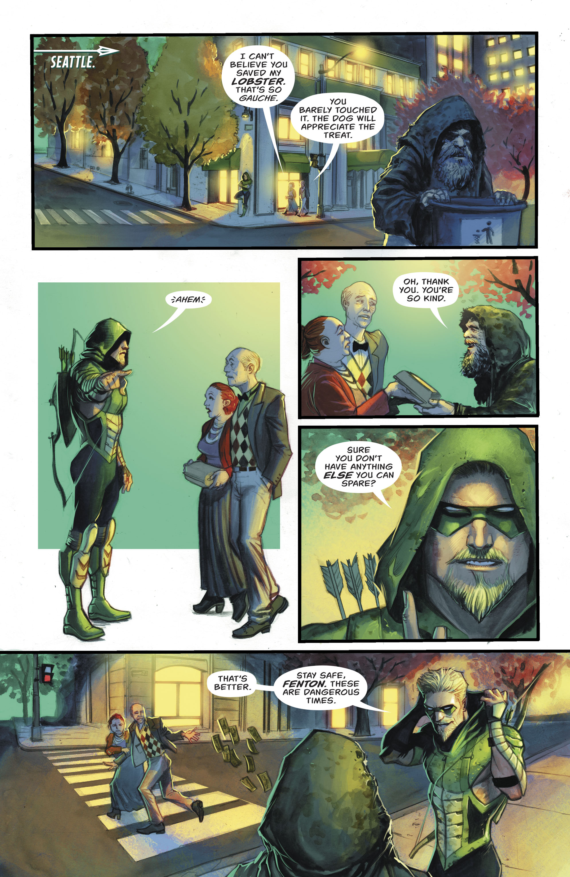 Read online Green Arrow (2016) comic -  Issue #24 - 4