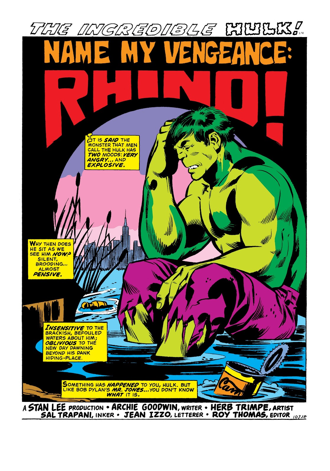 Read online Marvel Masterworks: The Incredible Hulk comic -  Issue # TPB 9 (Part 1) - 10