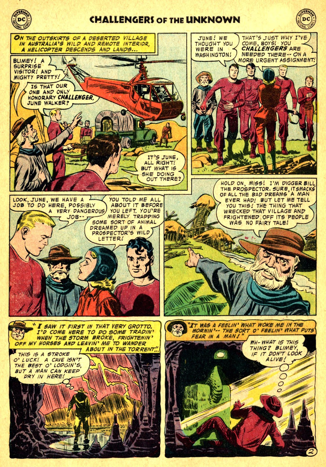 Challengers of the Unknown (1958) issue 2 - Page 4