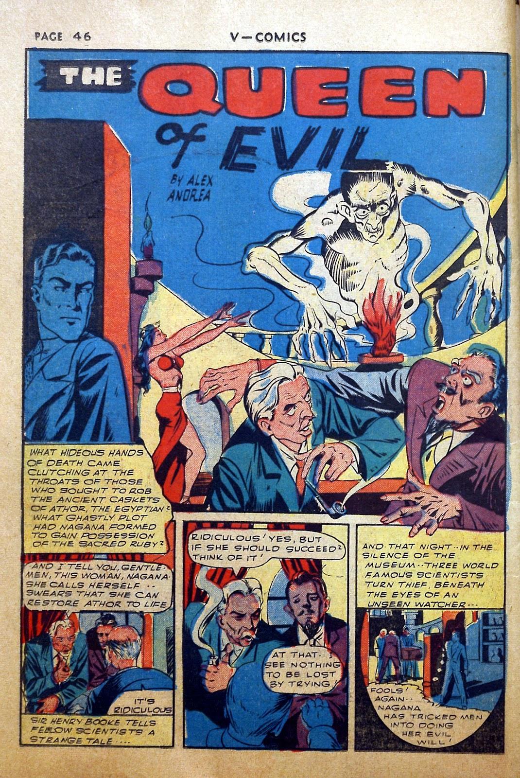 Read online V...- Comics comic -  Issue #2 - 47