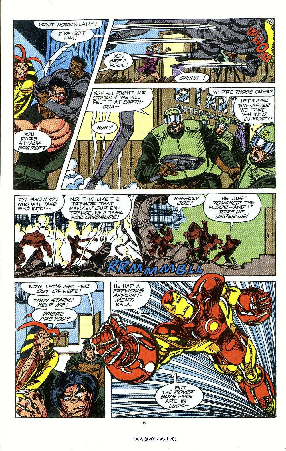 Iron Man Annual issue 12 - Page 17