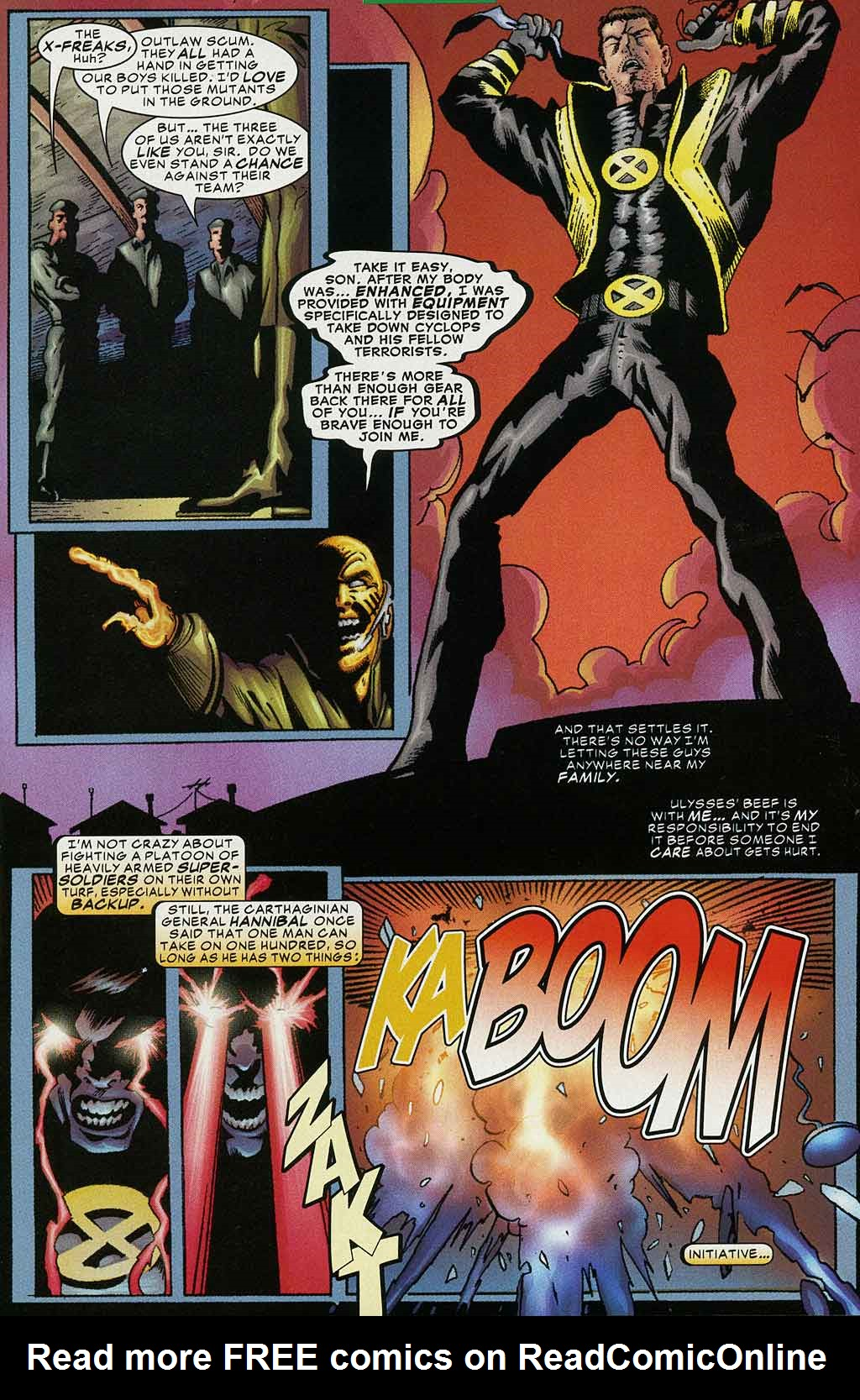 Read online Cyclops (2001) comic -  Issue #4 - 8