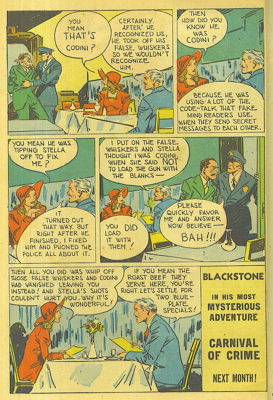 Read online Super-Magician Comics comic -  Issue #36 - 49