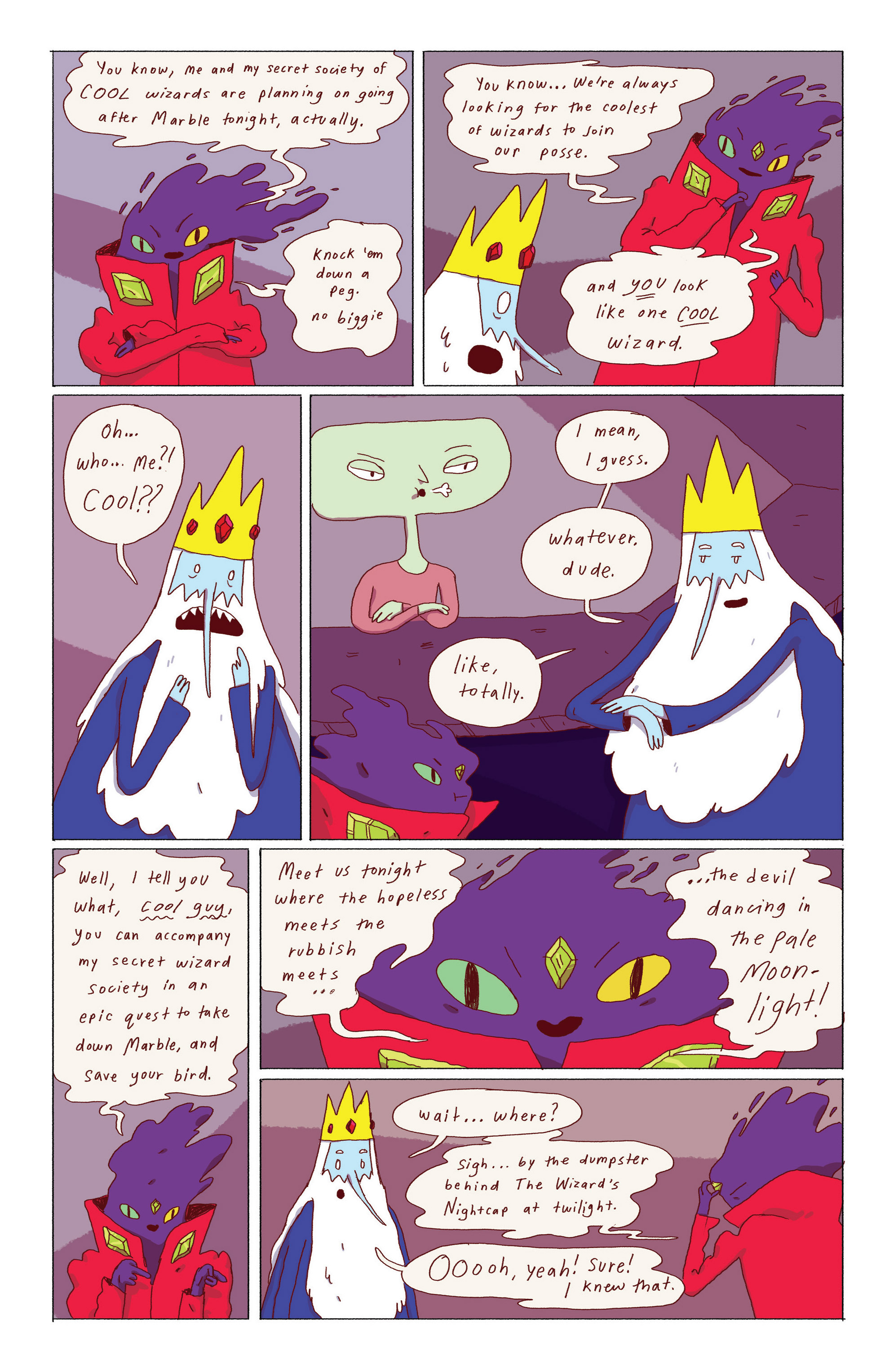 Read online Adventure Time: Ice King comic -  Issue #1 - 22