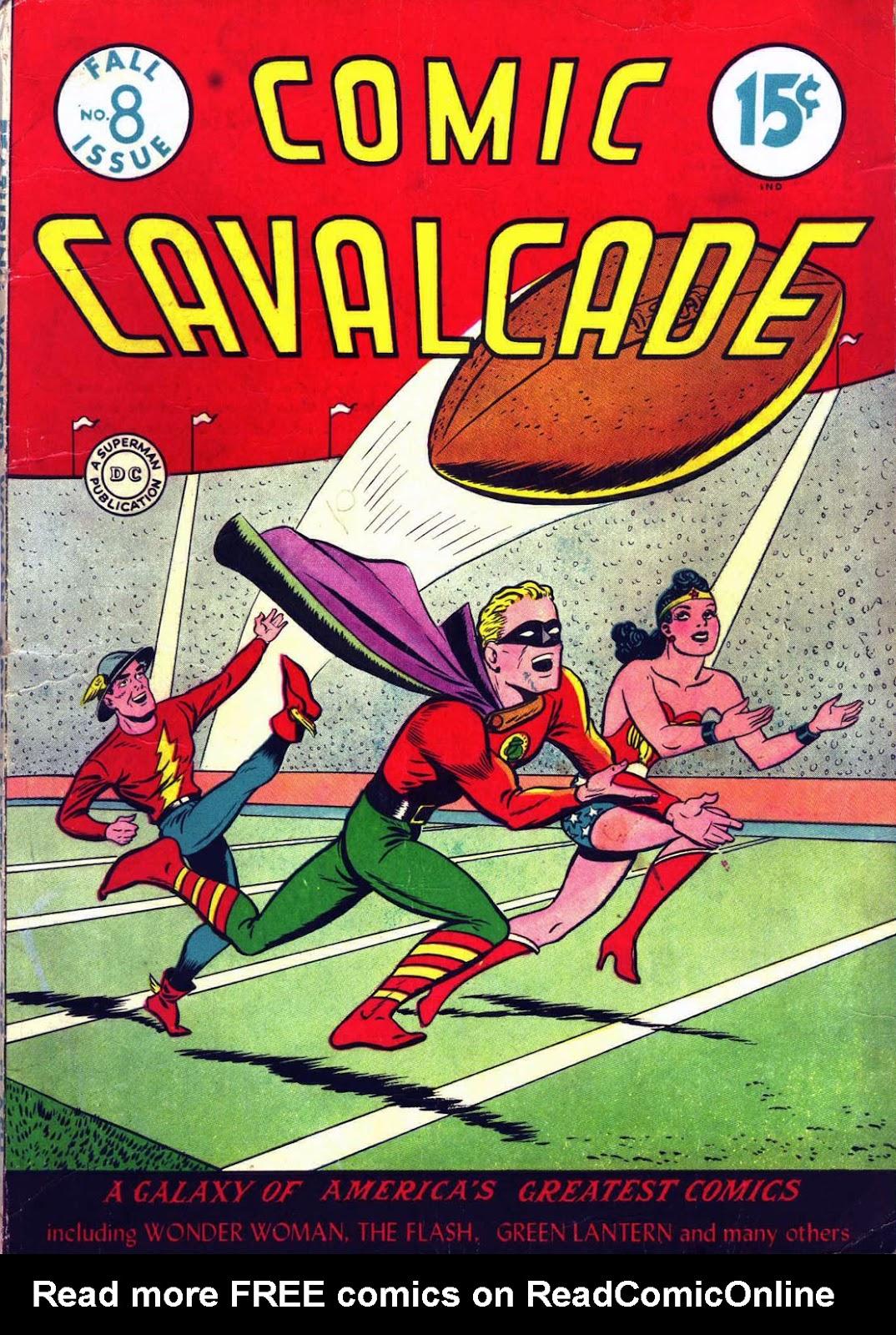 Comic Cavalcade issue 8 - Page 1