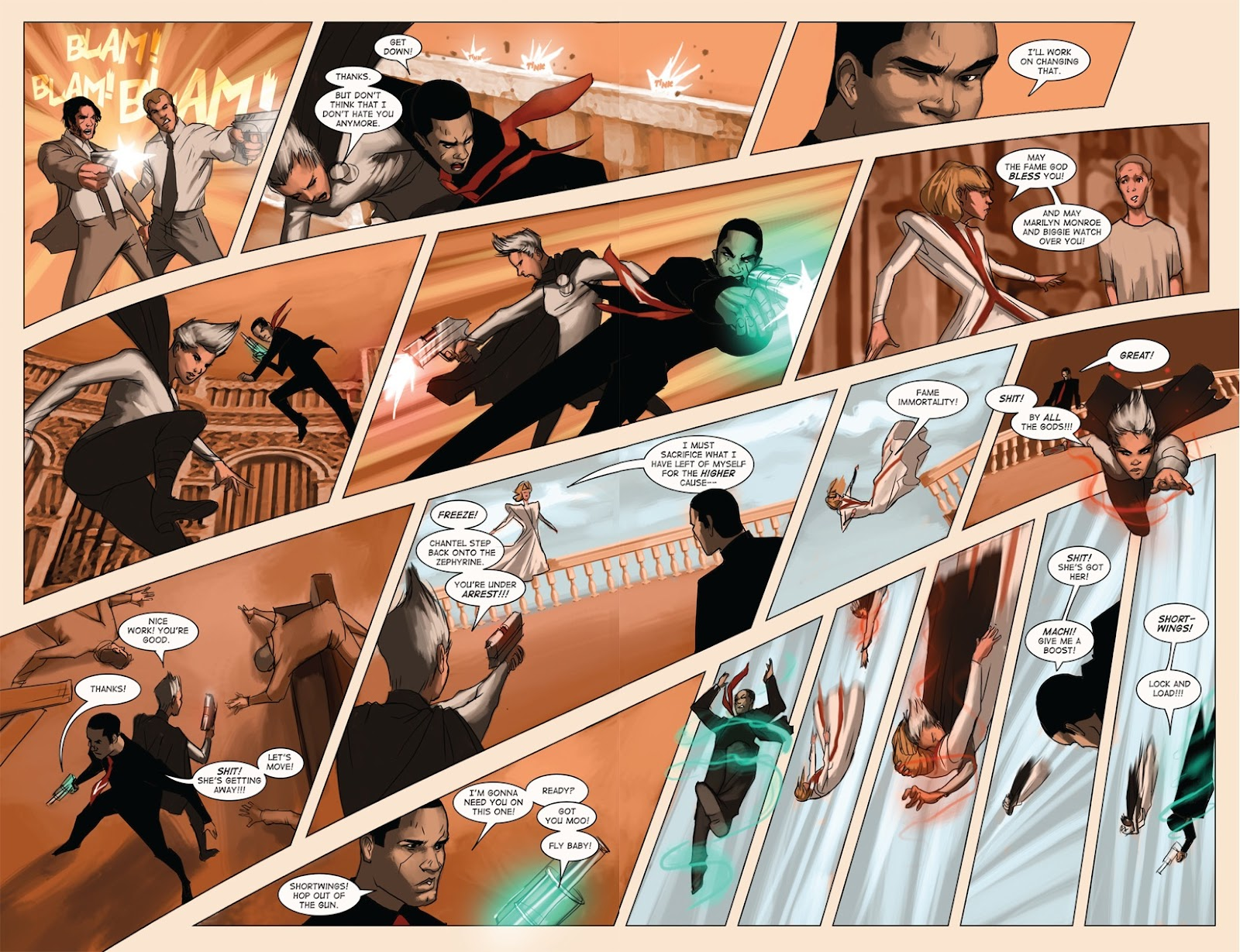 Read online Vescell comic -  Issue #4 - 28