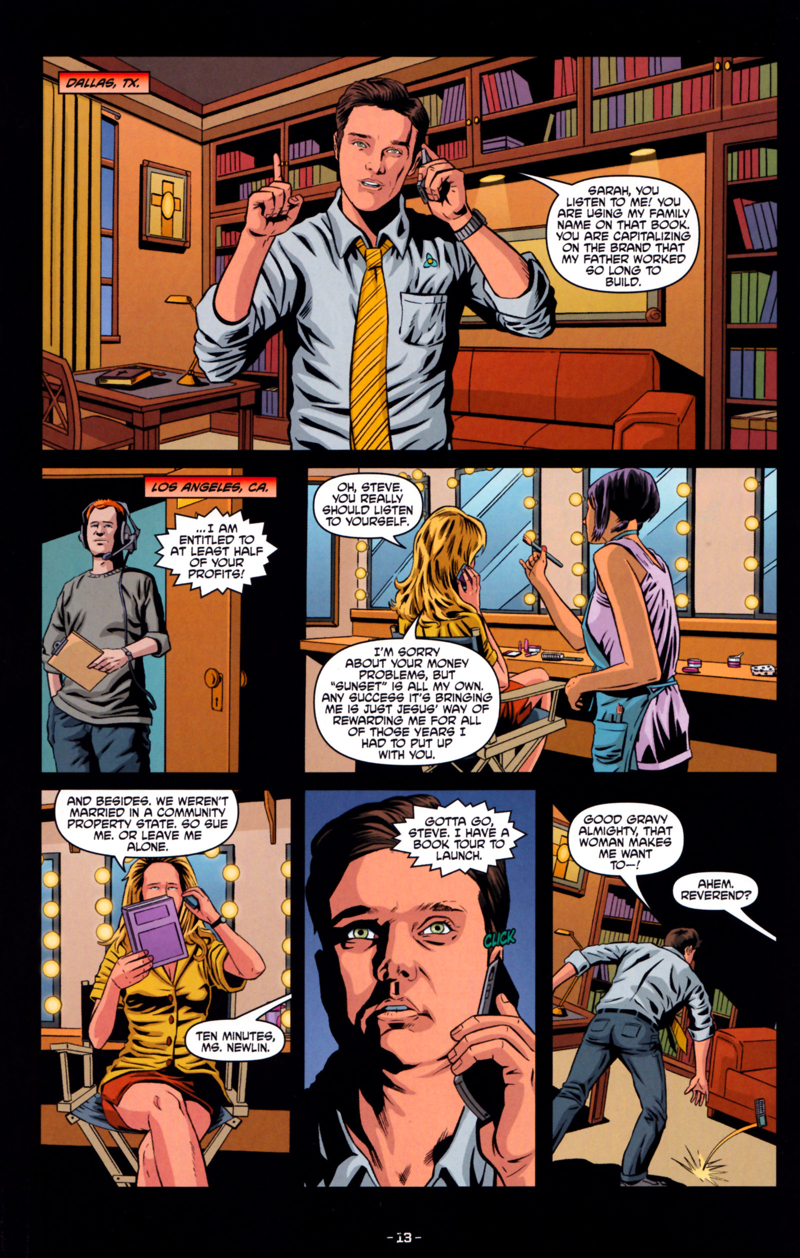 Read online True Blood: Tainted Love comic -  Issue #5 - 16
