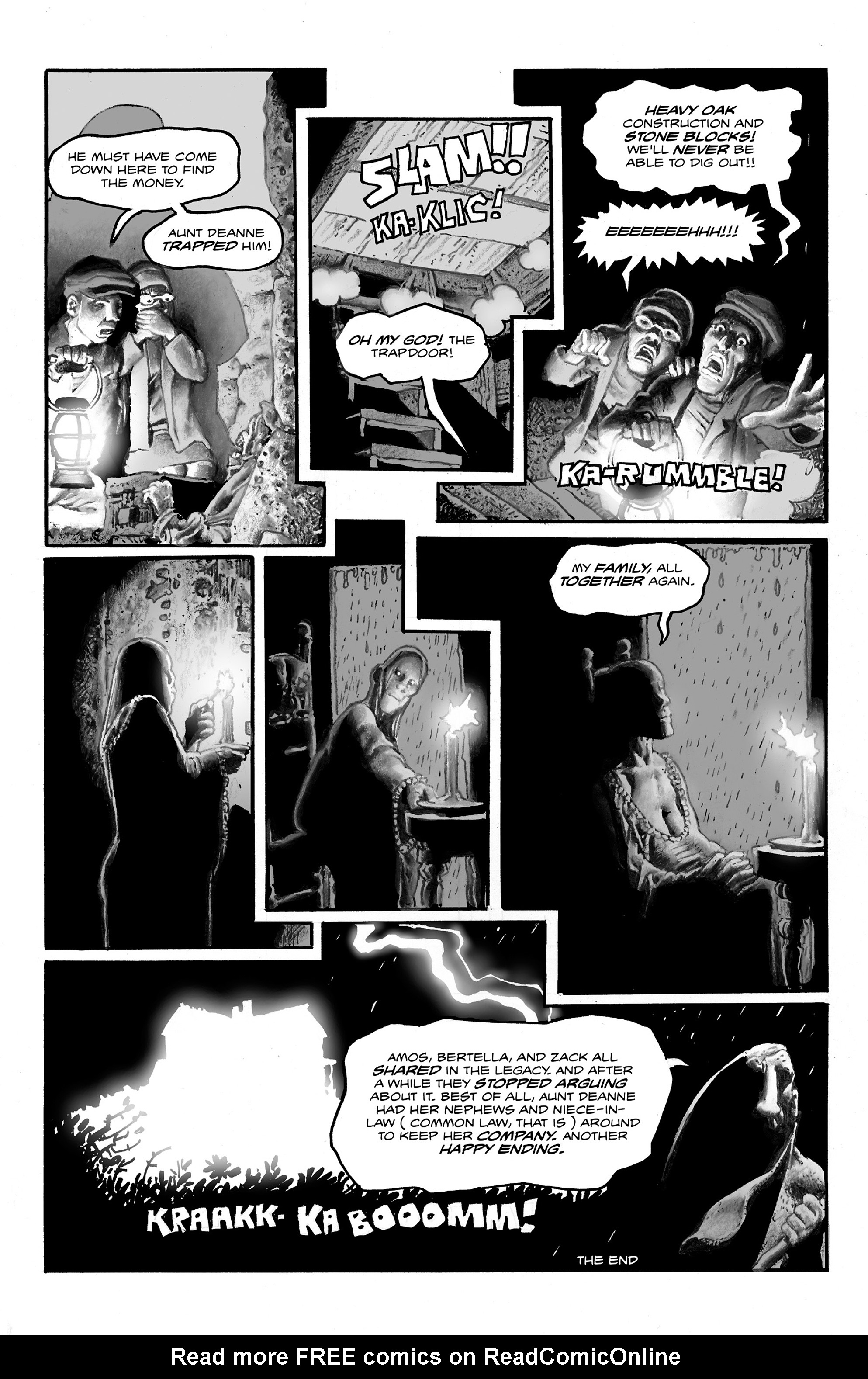 Read online Shadows on the Grave comic -  Issue #2 - 10