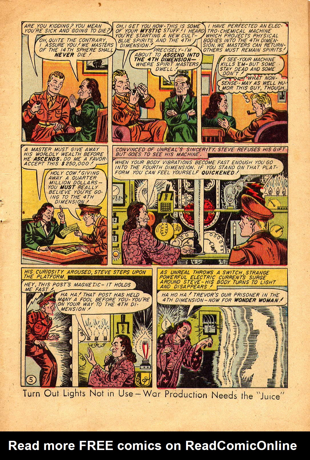 Read online Sensation (Mystery) Comics comic -  Issue #30 - 7