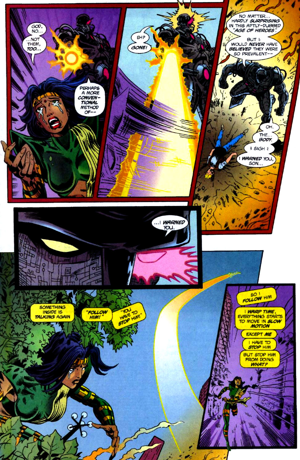 The New Warriors Issue #70 #74 - English 7