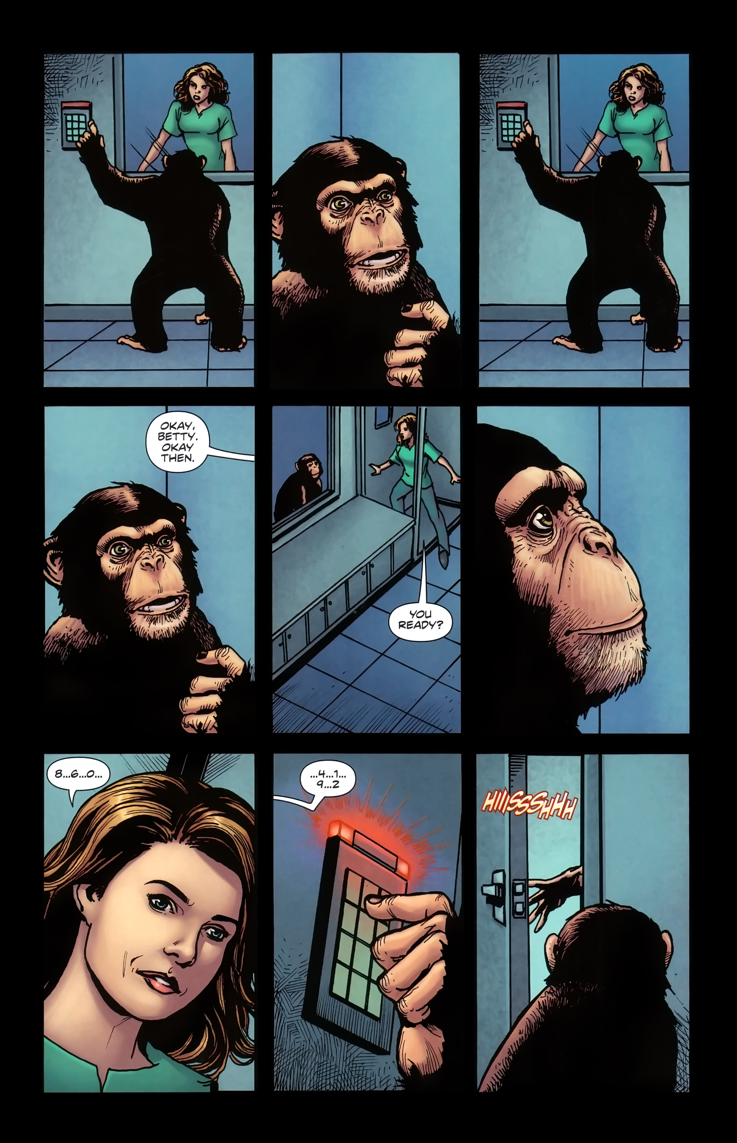 Read online Dawn of the Planet of the Apes:Contagion comic -  Issue # Full - 21