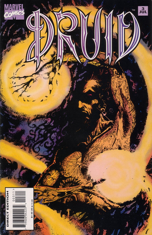 Read online Druid comic -  Issue #3 - 1