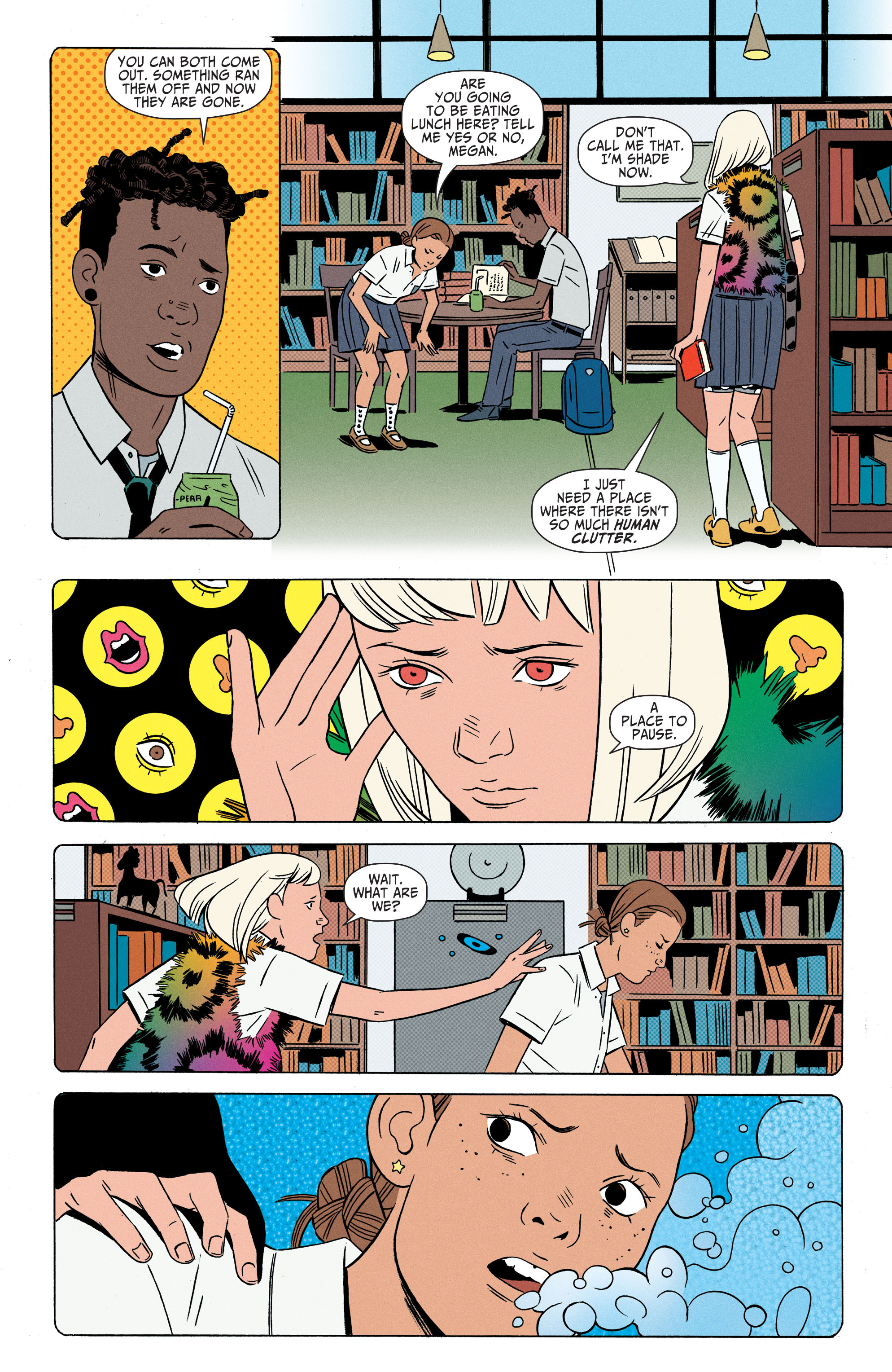 Read online Shade, the Changing Girl comic -  Issue #2 - 20