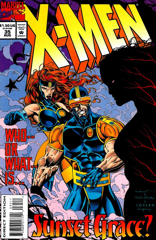 X-Men (1991) 35 Page 0