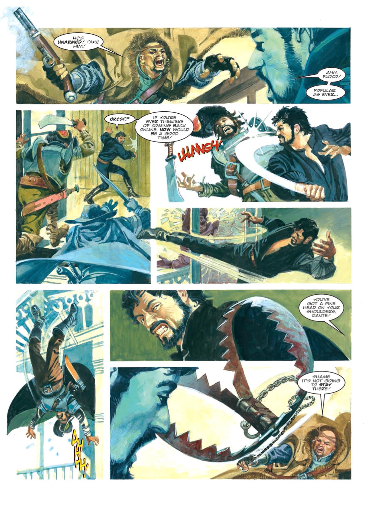 Read online Nikolai Dante comic -  Issue # TPB 9 - 114