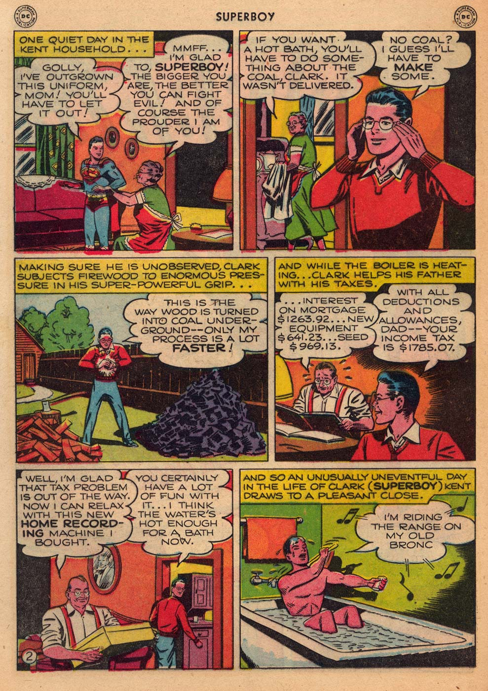 Superboy (1949) issue 3 - Page 29