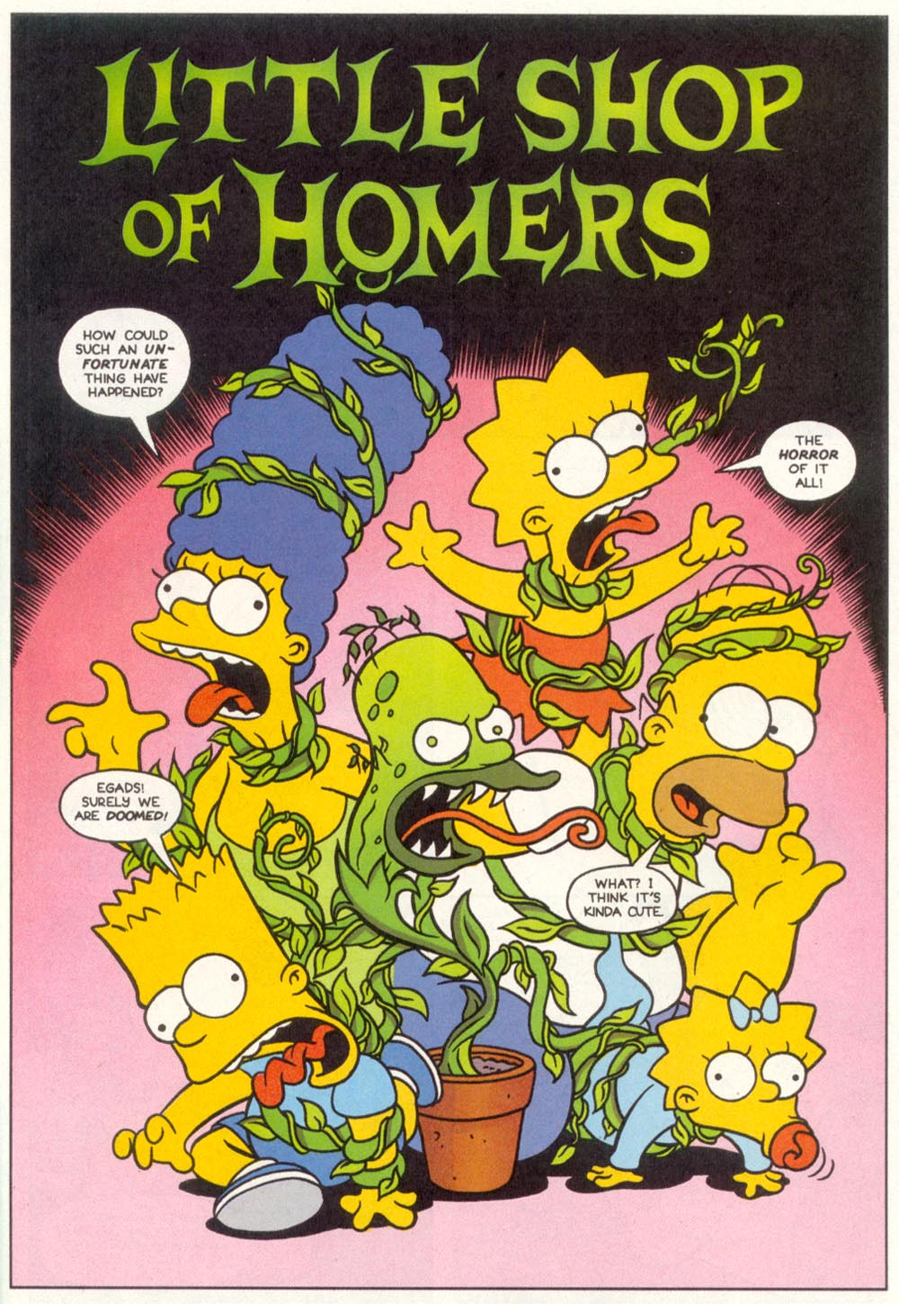 Read online Treehouse of Horror comic -  Issue #1 - 3