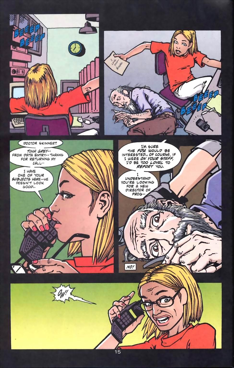 Read online Flinch comic -  Issue #16 - 16