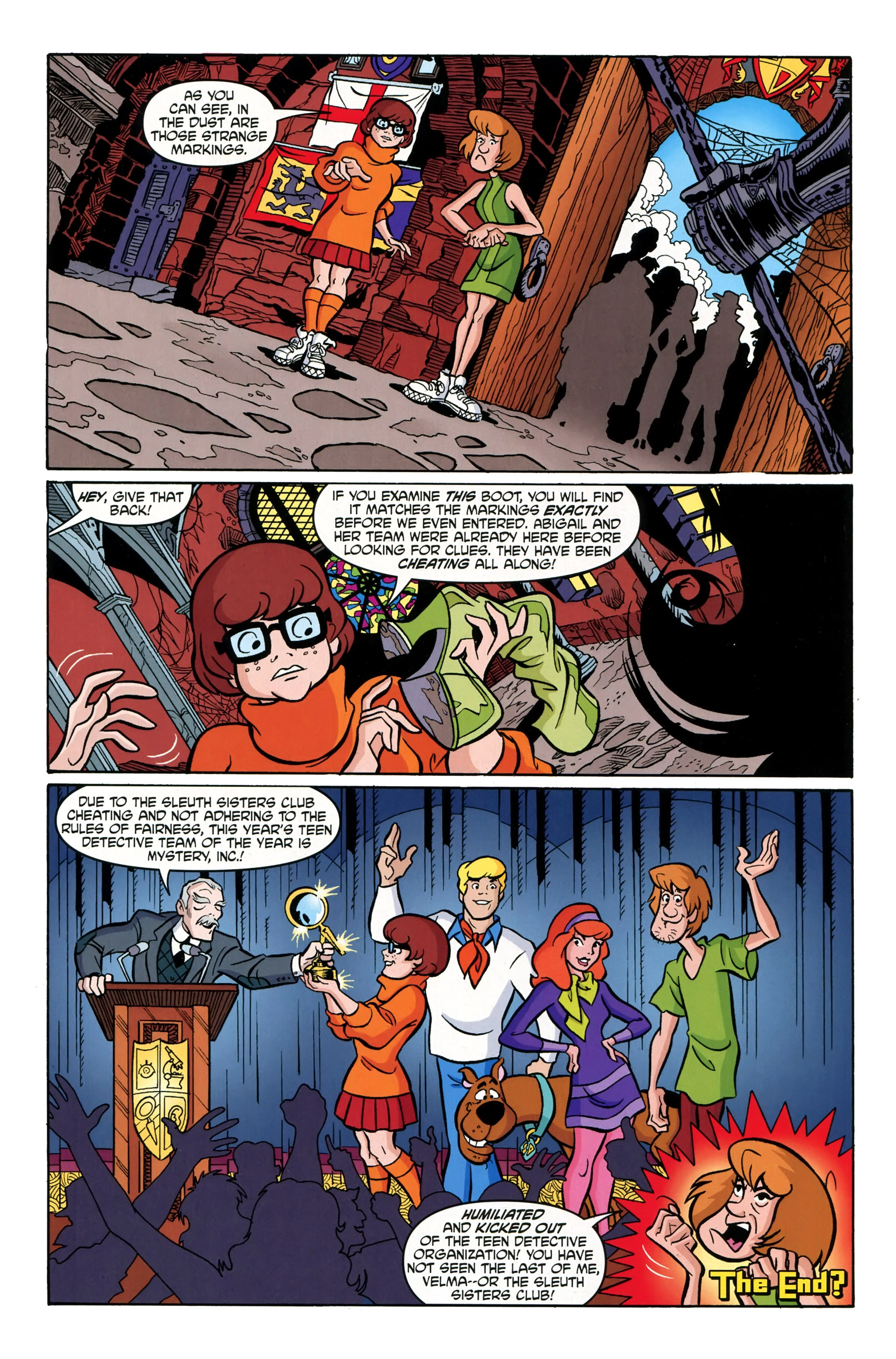 Read online Scooby-Doo: Where Are You? comic -  Issue #39 - 25