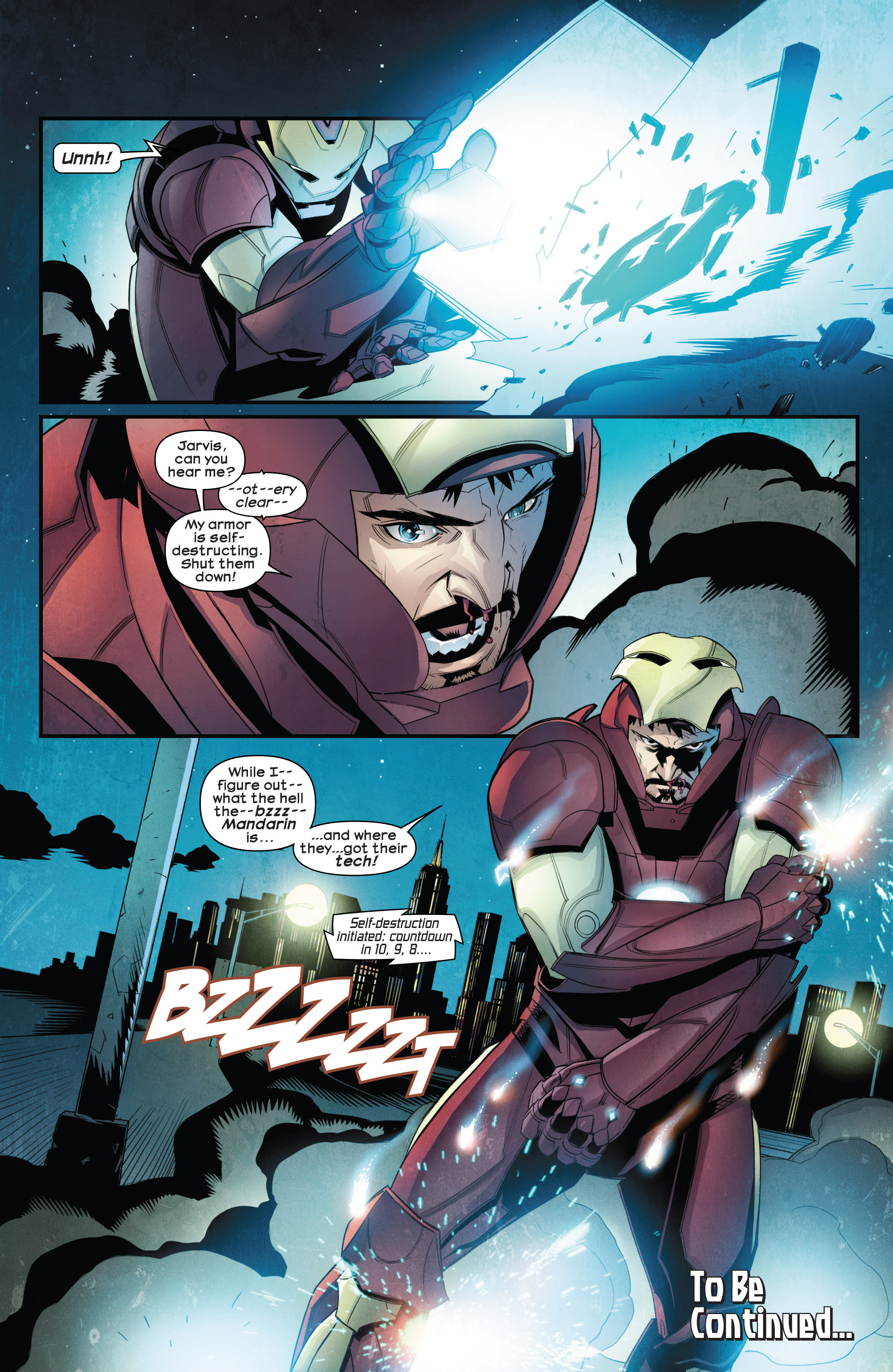 Read online Ultimate Comics Iron Man comic -  Issue #1 - 21