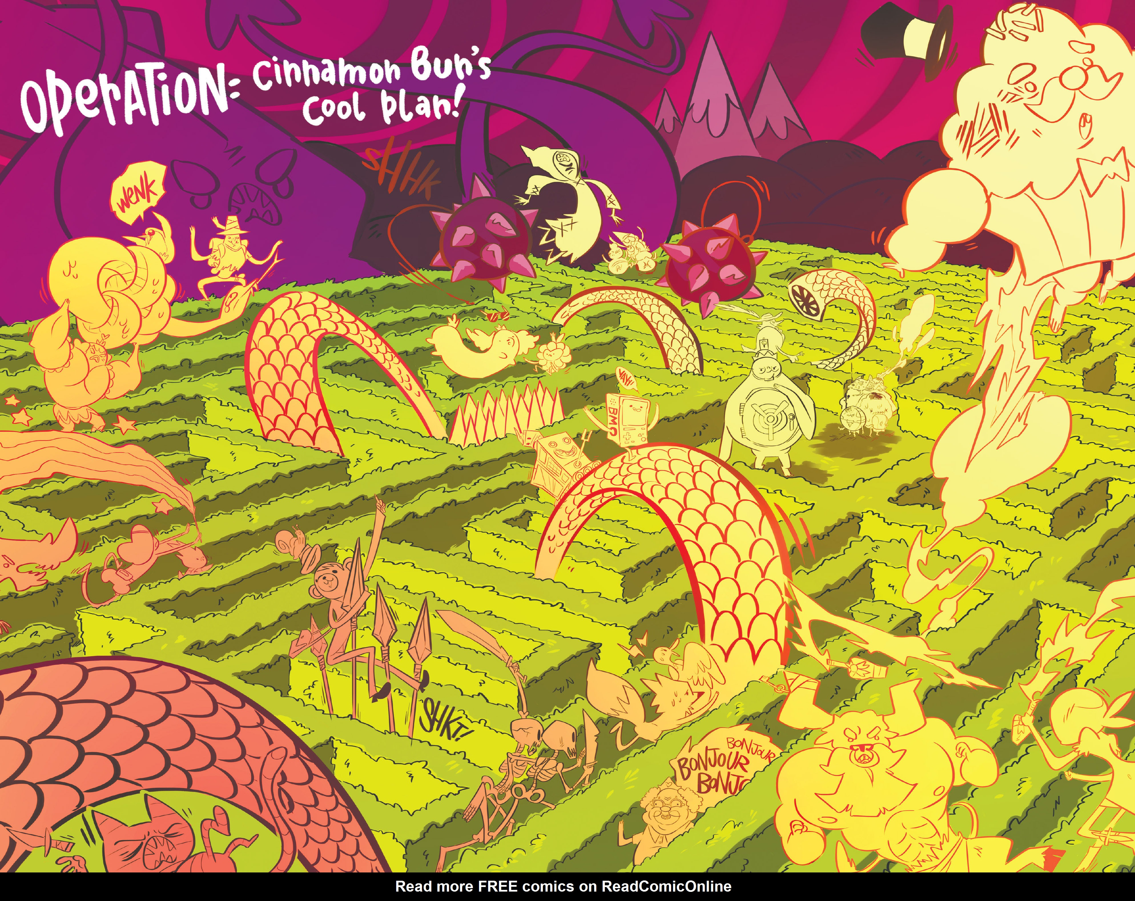 Read online Adventure Time: Candy Capers comic -  Issue #5 - 24
