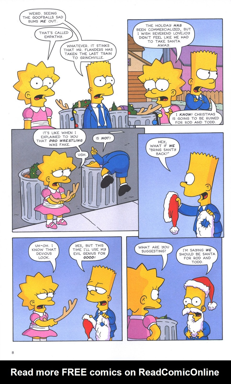 Read online The Simpsons Winter Wingding comic -  Issue #3 - 10